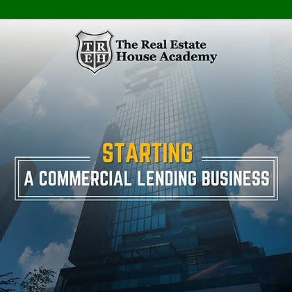 Blueprint in a Box: Starting a Commercial Lending Business