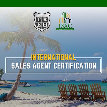 International Sales Agent Certification