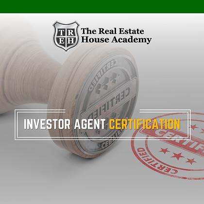Investor Agent Certification