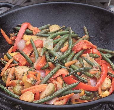 Vegtables in bowl