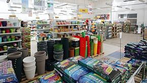Prodejna zahradnických potřeb