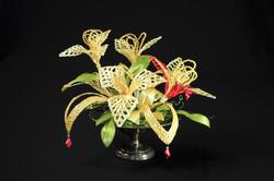 Woven Flower Centerpiece