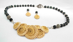 Catfoot Braid Wheat Necklace
