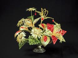 Wheat Woven Flower Centerpiece