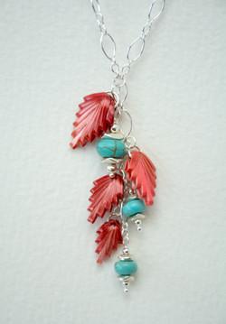 Spreuer wheat beads necklace