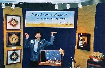 Janet Christenot Artist at Art Show