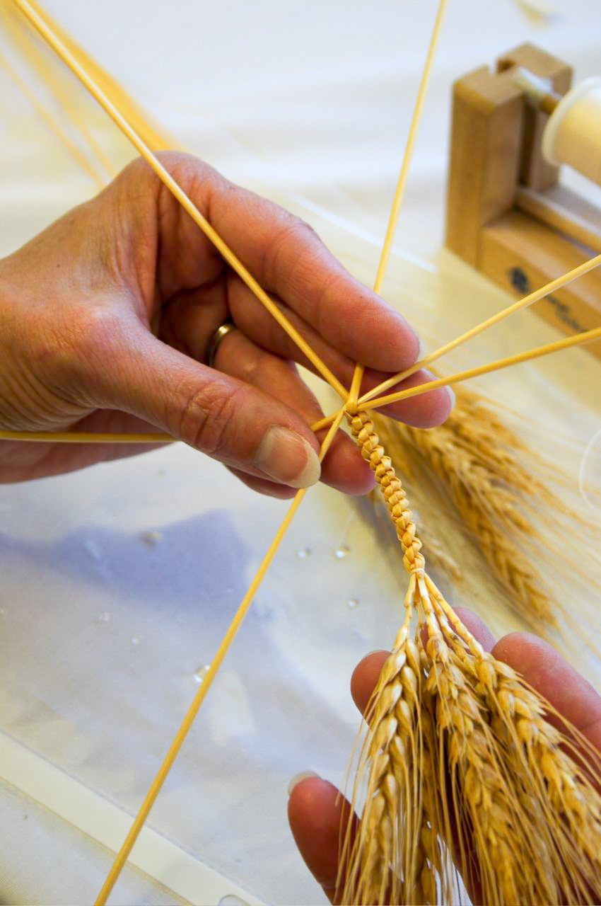 Weaving Stalks of Wheat