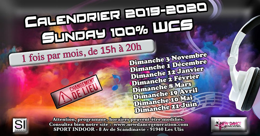 Affiche FB Sunday 100% WCS.jpg