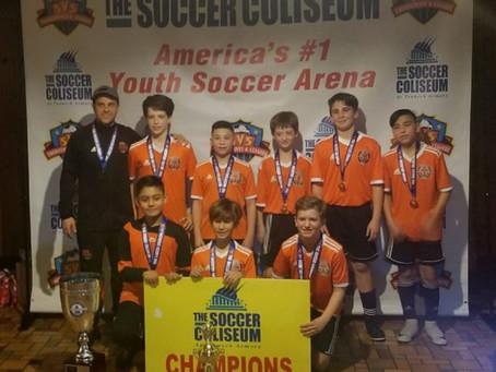 ¡CHAMPIONS! 2007 Boys Orange Team - South Fork United