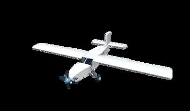 Avion pour parachutiste