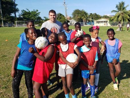SFU / CSG Soccer Convention in Nassau, Bahamas.