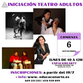 Teatro adultos