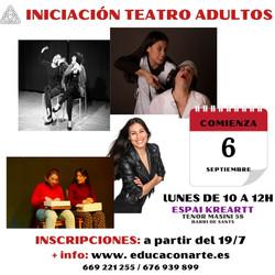 Teatro iniciación