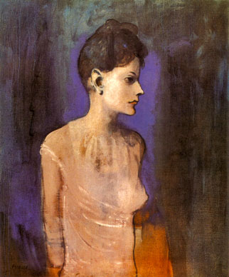 Picasso's Girl in Chemise