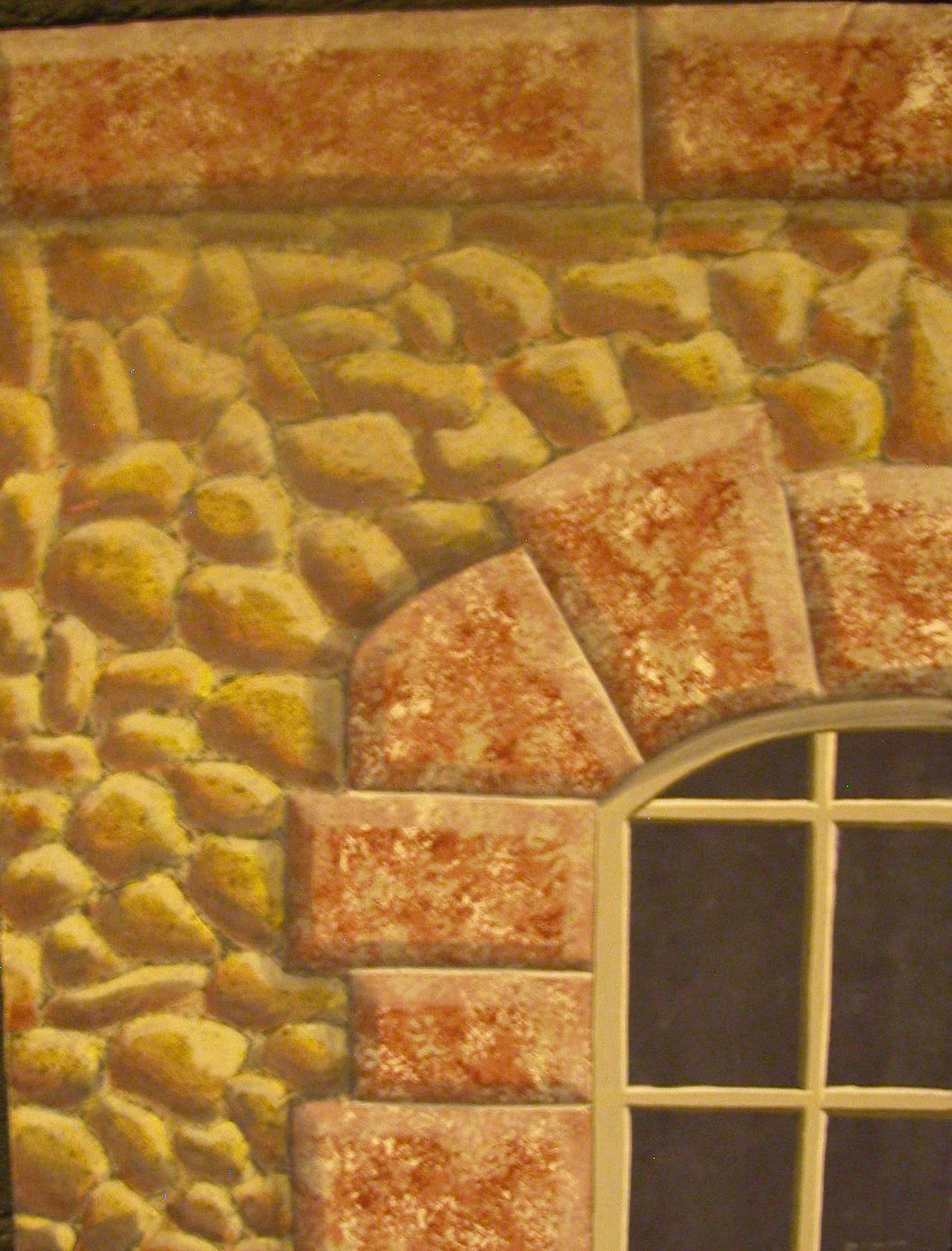 Study - cobblestone and granite