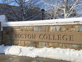 Touring Colleges in Boston