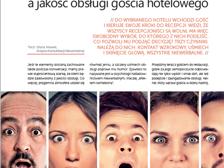 Monitoring emocji a jakość obsługi w hotelarstwie