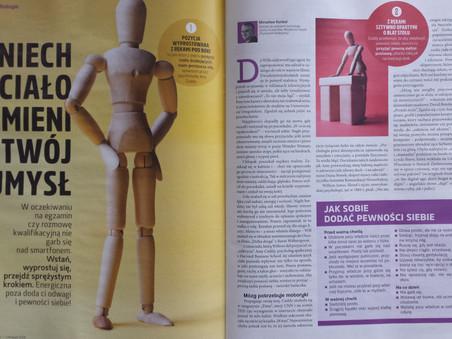 Jak ciało wpływa na umysł - Artykuł w magazynie Focus