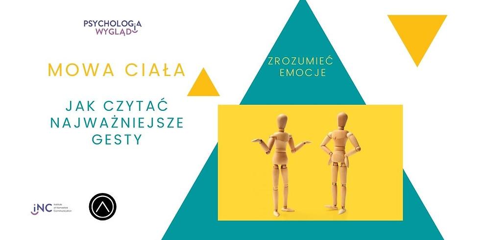 Mowa ciała w praktyce - Webinar