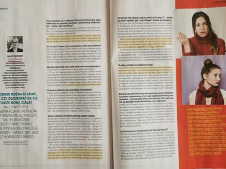 Jak zrozumieć się bez słów - Wywiad w Onet.pl
