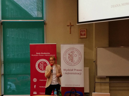 Wykład dla kierunku Bezpieczeństwo Wewnętrzne na Uniwersytecie Opolskim