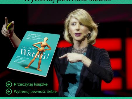 Premiera książki Amy Cuddy + oferta szkoleń z budowania pewności siebie