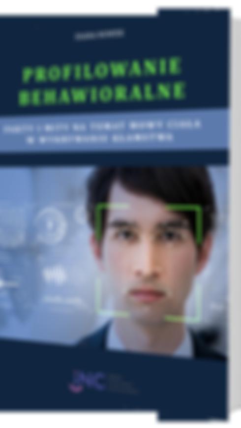 okladka profilowanie behawioralne ebook