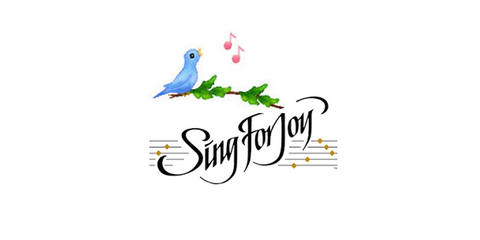 June Jubilation - Sing for Joy!