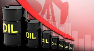 Downward trend in oil prices