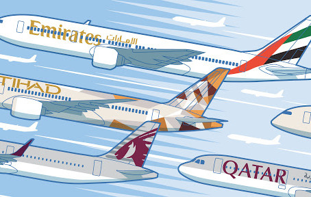 Campaign against the Gulf carriers