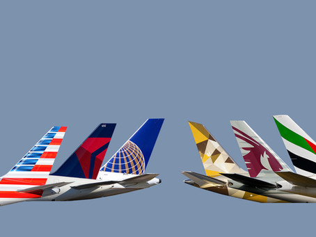 U.S. airlines drive against Gulf carriers