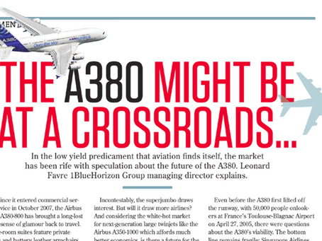 The Airbus A380 at a crossroads