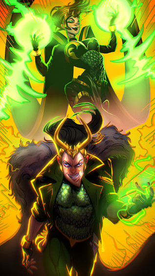 A Couple of Lokis