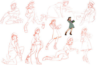 Character Study from life