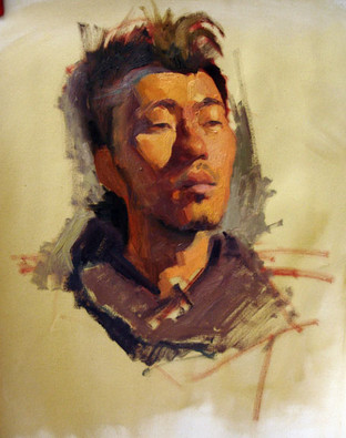 Painting Study from Life; oil