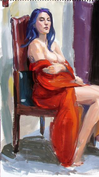 Life Painting; Gouache