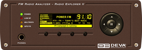 Radio Explorer II – Mobile FM Radio Analyzer