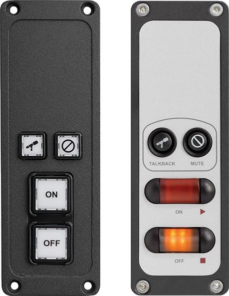 Mic Control Panel - Studio Control Panels