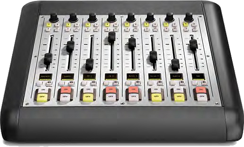 8-Fader Expansion Frame - iQ AoIP Mixing Console