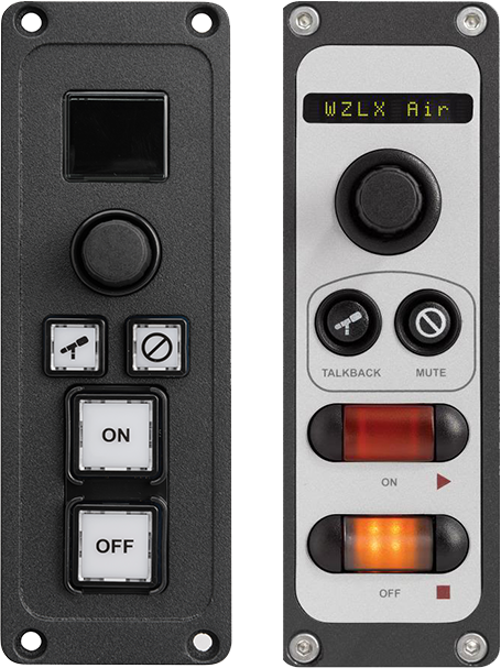 Mic Control / Headphone Selector Panel - Studio Control Panels