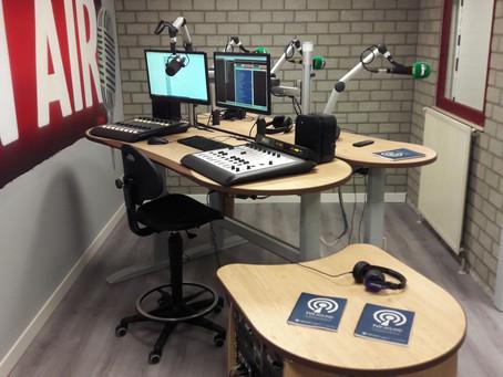 Radio LRM - New Axia studio.