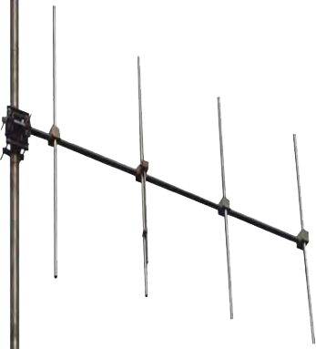 FM Yagi 5 elements antenna gamma match tuned