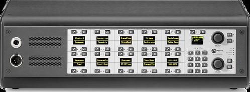 IC.20D 20-Station OLED Desktop Intercom - IP Intercom
