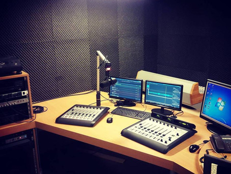 FM Gold / Radio Amerika - new radio studio!
