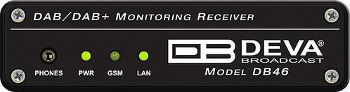 DB46 - Compact DAB/DAB+ Monitoring Receiver