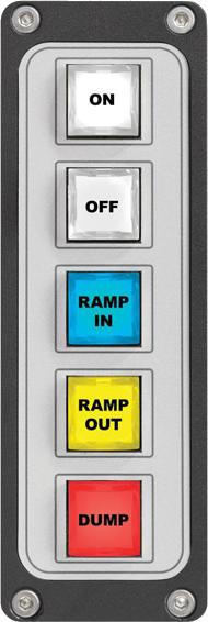 Five-Key Filmcap Button Panel - Studio Control Panels
