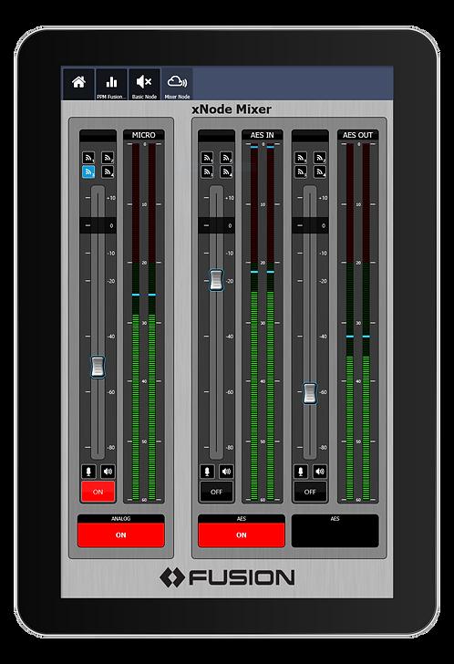 IP-Tablet xNodes Virtual Radio App - Axia IP-Tablet Virtual Radio