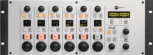 RAQ Rack-mount IP-Audio Console