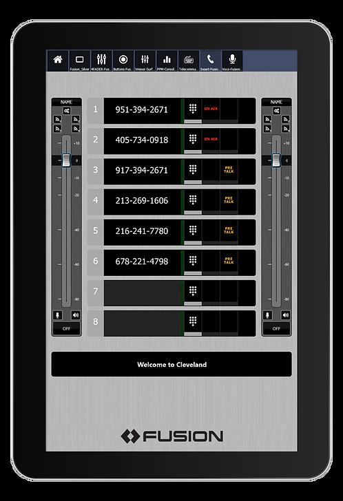 IP-Tablet VX Prime Virtual Radio App - Axia IP-Tablet Virtual R