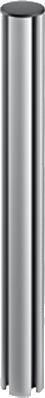 "MMS System Pole 17,5"" (44,5cm) YT3240 m!ka aluminum"